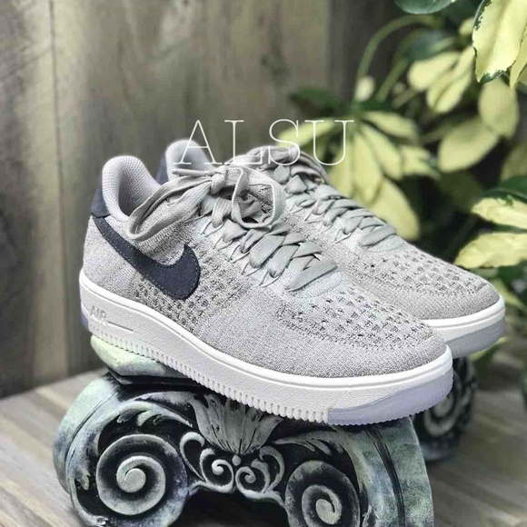 info for b1b72 cd5e3 Nike Air Force 1 Flyknit Low Pale Grey W AUTHENTIC